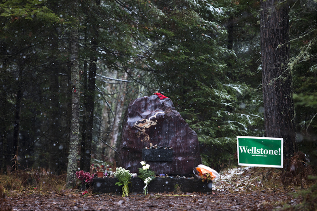 Video from Eveleth Minnesota, Oct. 25, 2012