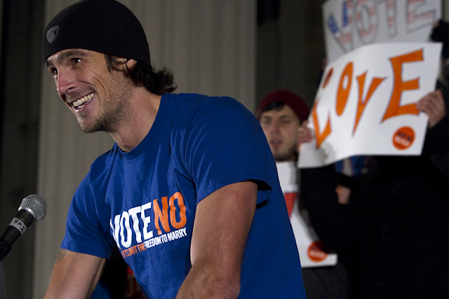 Vote No Rally at U of M with Chris Kluwe