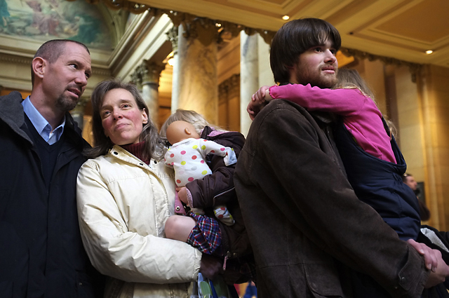 Minnesota Council on Families Rally to Protect Marriage.