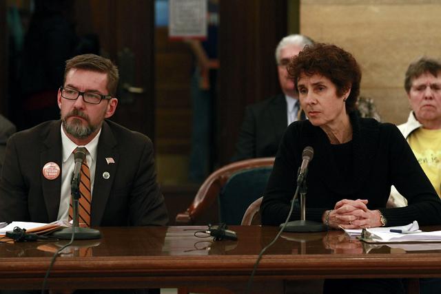 Senate Hearing on Gay Marriage Bill.