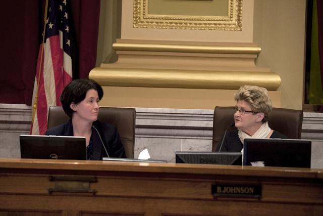 New Mayor, new city council, same council President.