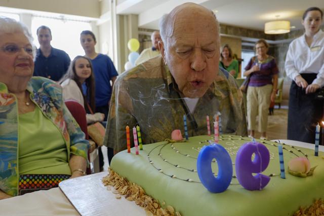 Louie turns 90!